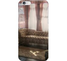 Sitting Area in Edison's Master Bedroom, Glenmont iPhone Case/Skin