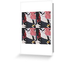 Mickey Mouse And Minnine Mouse Greeting Card
