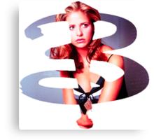 B - Buffy Season 1 Canvas Print