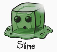 Slime Minecraft Kids Clothes