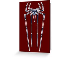 The Amazing Spider-man variant crest. Greeting Card