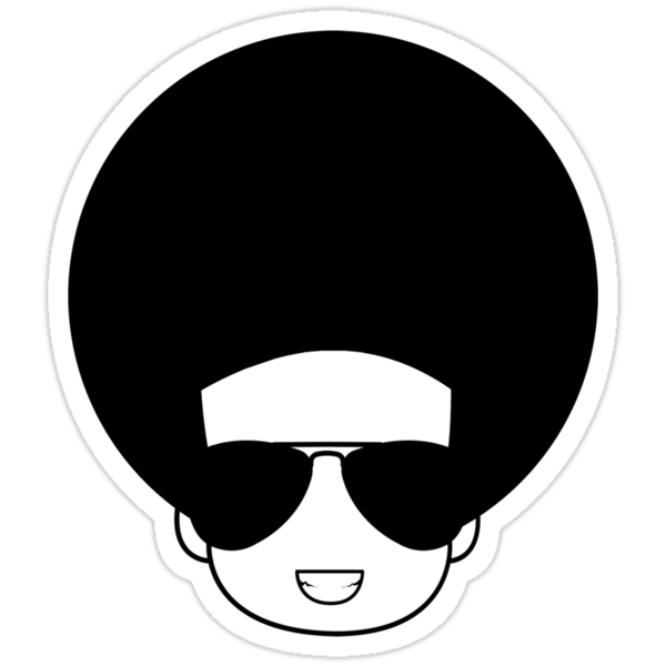 Afro (black) by SvenS