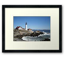 Portland Head Light House, 4700 views! Framed Print
