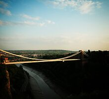 Clifton Suspension Bridge by Murray Breingan