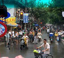 Downtown Suzhou by cometkatt