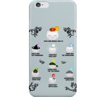 Thornmarch - King Moggle iPhone Case/Skin