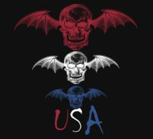 USA Death Bat by Keith Barkevich