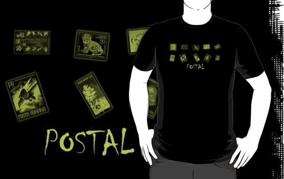 Postal World Stamps by Keith Barkevich