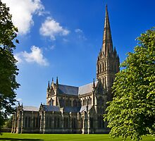 Salisbury Cathedral by Krys Bailey