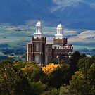Logan LDS Temple by Ryan Houston