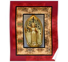 Golden Budda Poster