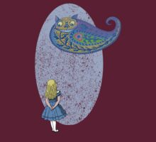 Alice and the Cheshire Paisley by SusanSanford