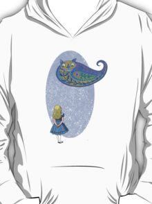 Alice and the Cheshire Paisley T-Shirt
