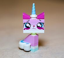 Lego Movie Crying Kitty by garykaz