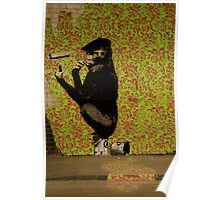Banksy - Cans Festival 1 London Poster