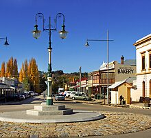 Ford and Camp Streets - Beechworth by Darren Stones