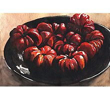 Heirloom Tomatoes Photographic Print