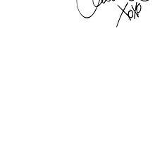 Austin Carlile's Autograph by maryannerawwr