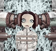 Girl in the machine by Matt Turner