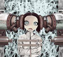 Girl in the machine by Matt Turner