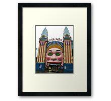 Luna Park, Sydney Framed Print
