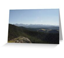 Yellowstone Forever Greeting Card
