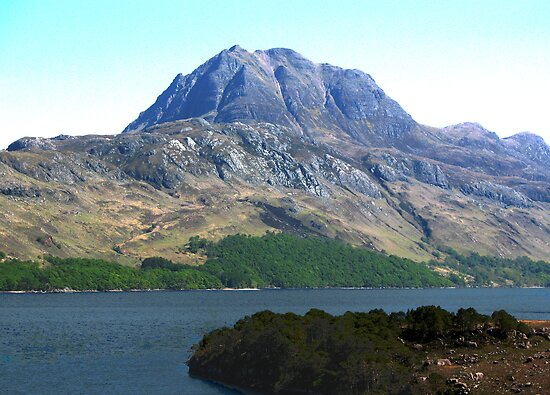Slioch, North-west Scotland by jacqi