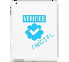 Verified Fangirl iPad Case/Skin