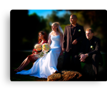 Bridal Party Canvas Print