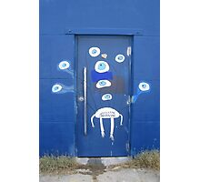 A door with eyes- wall art Photographic Print