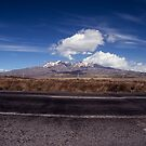 desert rd mountain by Mark Reed