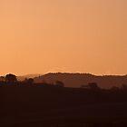 orange sunset by Mark Reed