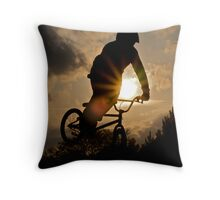 Sun Air Throw Pillow