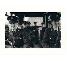 Transport Police Art Print