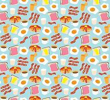 Breakfast Fun Pattern by Cynthia Arre