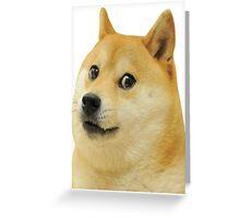 Doge Original Greeting Card