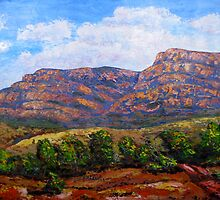 Flinders Ranges South Australia by Ingrid Russell