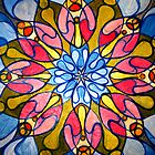 springtime mandala by abigail abbott
