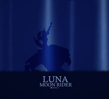 Dota 2 Luna Moonrider by spiderxii
