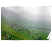 Along the Lower Reaches of Bunster Hill Poster