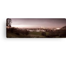 The View from Greenwich Park Canvas Print
