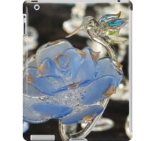 blue rose - rosa azul iPad Case/Skin