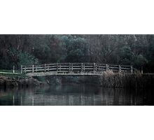 Bridge on the Lake - HDR Photographic Print