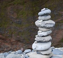 Rock Stack by Robert Baker