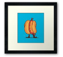 Flash food Framed Print