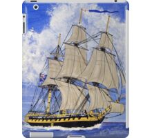 HMS Boreas Leaving Gibraltar - Capt Horatio Nelson - all products except duvet iPad Case/Skin