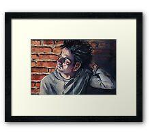 Him Framed Print