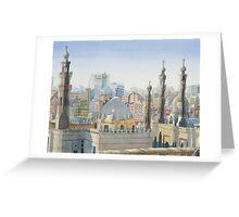 Cairo Calling Greeting Card