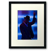 Disco Man Framed Print
