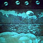 """Night Dreams"" -*FINALIST EMERGING ARTIST 2010 AWARD* by Belinda ""BillyLee"" NYE (Printmaker)"